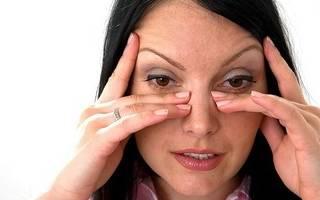 Что делать если болят пазухи под глазами?