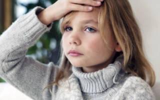 Болит лоб над глазом у ребенка