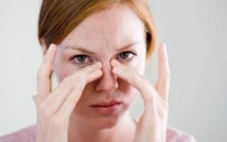 У ребенка насморк и болит глаз