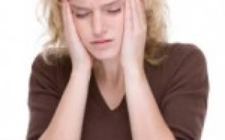 Почему во время месячных болит голова лоб глаза?