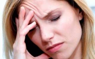 Резь в глазах и голова болит
