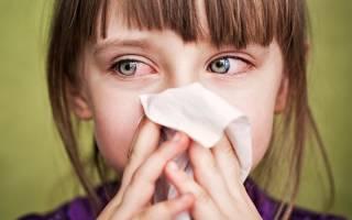 Конъюнктивит на фоне насморка у ребенка