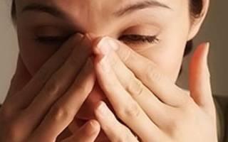 Заложен нос с одной стороны и болит глаз