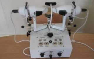 Синоптофор для диагностики и лечения косоглазия