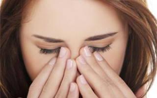 Болит щека под глазом и заложен нос чем лечить