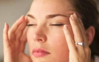 Болит глаз и висок при кашле