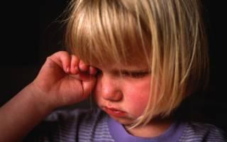 Конъюнктивит внутри верхнего века у ребенка