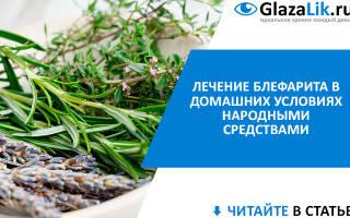 Сок алоэ в лечении блефарита